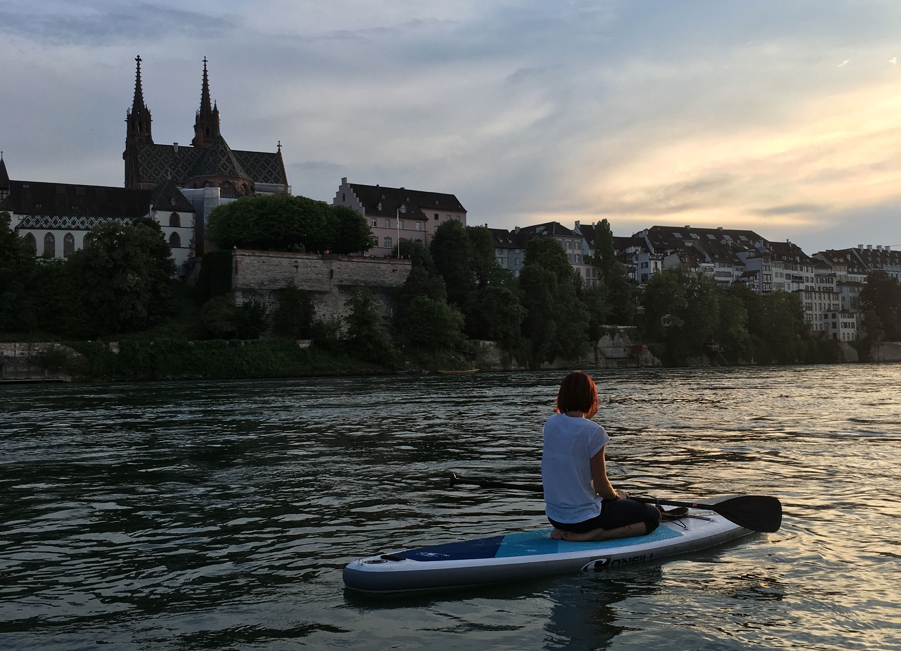 Christine Brugger - SUP in Basel